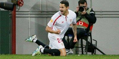 Atletico'dan Sevilla'ya Vitolo golü