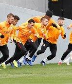 Galatasaray'da Porto maçının hazırlıkları başladı