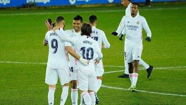 Deportivo Alaves - Real Madrid: 1-4 (MAÇ SONUCU - ÖZET)