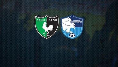 Denizlispor - BB Erzurumspor maçı CANLI