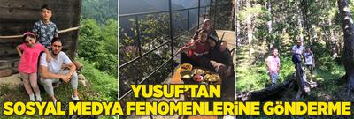 Yusuf Yazıcı'dan sosyal medya fenomenlerine cevap