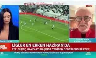 Turgay Demir: Federasyonun ilk hedefi ligi oynatarak bitirmek