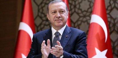 Cumhurbaşkanı Erdoğan'dan Konyaspor'a kutlama