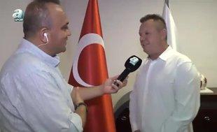 Denizlispor Başkanı Ali Çetin:Allah emeklerimizin karşılığını verdi