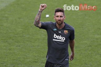 Lionel Messi'den Barcelona'ya flaş yanıt!