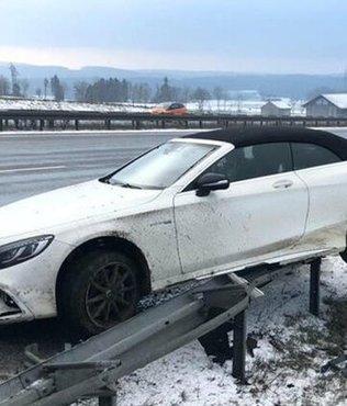 Bayern Münih'in yıldızı Jerome Boateng kaza yaptı!