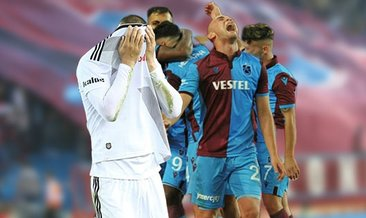 MAÇ SONUCU Trabzonspor 4-1 Beşiktaş MAÇ ÖZETİ