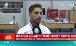 İbrahim Çolak'ın yeni hedefi Tokyo 2020