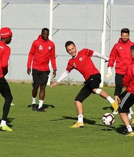 Sivasspor Göztepe hazırlıklarını sürdürüyor