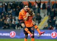 Başakşehir - Beşiktaş maçında Demba Ba attığı gole sevinmedi
