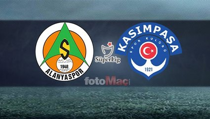Alanyaspor - Kasımpaşa maçı ne zaman, saat kaçta, hangi kanalda?