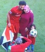 İşte Muhammed Salah'ın eşi ve kızı