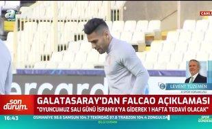 Levent Tüzemen: Falcao'nun sakatlığı kabak tadı verdi