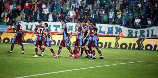 Çaykur Rizespor 2 - 3 Trabzonspor