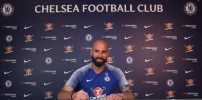 Willy Caballero bir yıl daha Chelsea'de