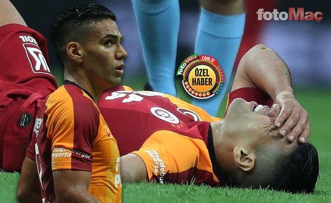 Galatasaray'daki Falcao depremi: Doktorlar teşhisi koydu!