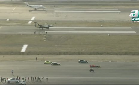 Nefes kesen yarış: F-16, motosiklet, F1 aracı...