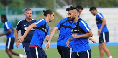Trabzonspor'un Slovakya kampı başladı
