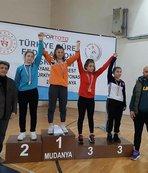 Güreşte Yıldız Kadınlar Türkiye Şampiyonası sona erdi