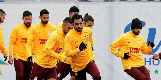 Galatasaray kafilesi Rize'ye geldi