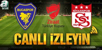 Bucaspor - Demir Grup Sivasspor | CANLI