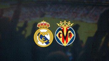 Real Madrid - Villarreal | CANLI