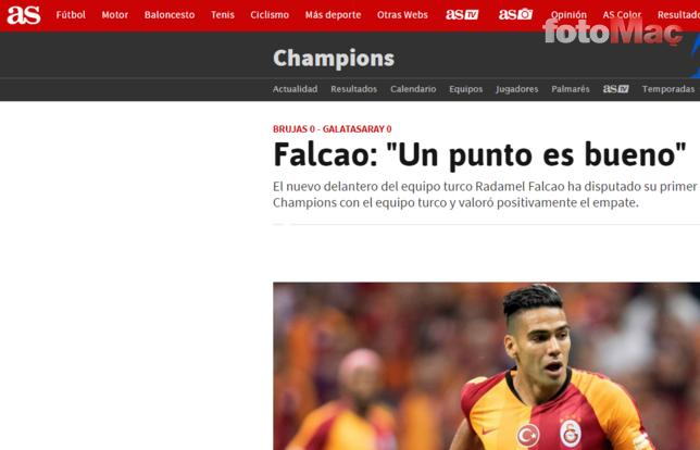 Galatasaray'a Radamel Falcao tepkisi: Son dakika oyuna almak saygısızlıktır!
