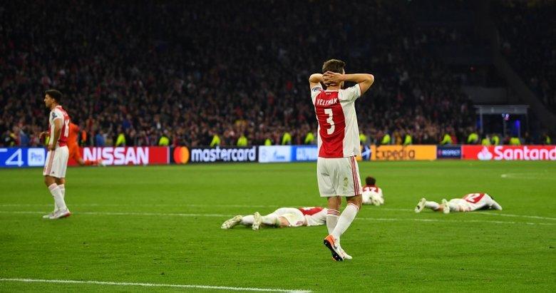 Ajax 2-3 Tottenham   Dev maçtan kareler!