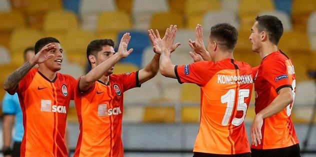 Shakhtar Donetsk 3-0 Wolfsburg | MAÇ SONUCU - teklif -