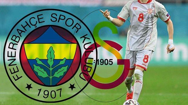 Son dakika transfer haberi: Galatasaray'a transferi yatan Ezgjan Alioski için Fenerbahçe devrede!