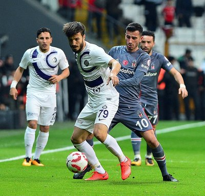 Beşiktaş - Osmanlıspor maçında dikkat çekenler