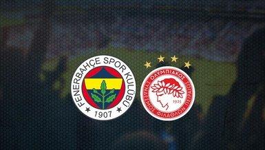 Fenerbahçe - Olympiakos maçı ne zaman? Fenerbahçe Avrupa ligi maçı saat kaçta ve hangi kanalda canlı yayınlanacak? | CANLI SKOR