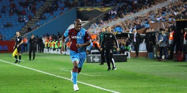 Trabzonspor'da Nwakaeme coştu!