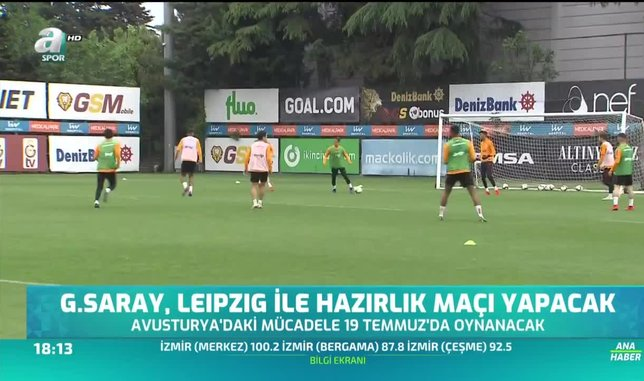 Galatasaray Leipzig ile hazırlık maçı yapacak