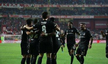 MAÇ SONUCU Antalyaspor 1-2 Beşiktaş MAÇ ÖZETİ