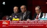 Galatasaray yönetimi Terim ile görüştü