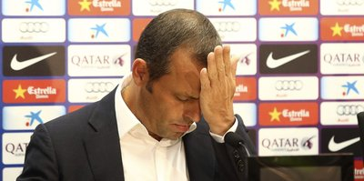 Barcelona'nın eski başkanı'na şok!