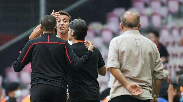 Galatasaray Alanyaspor maçı sonrası Bülent Korkmaz'dan Fatih Terim açıklaması! Tartışma olmadı