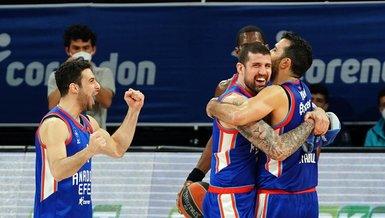THY EuroLeague'de Andaolu Efes ile beraber Final-Four'a yükselen takımlar belli oldu