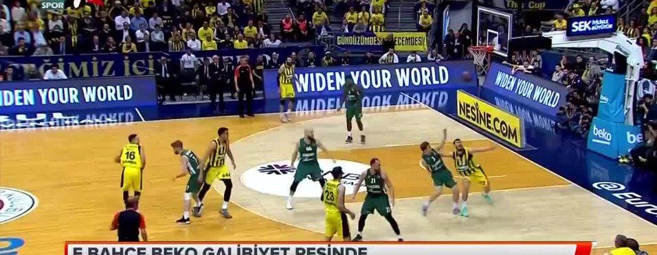 Fenerbahçe Beko galibiyet peşinde