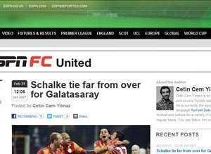Dünya basınında G.Saray-Schalke maçının yankıları