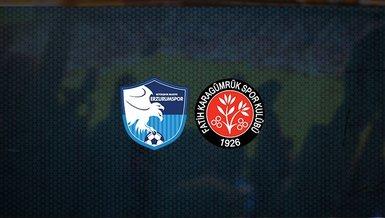 BB Erzurumspor - Fatih Karagümrük maçı ne zaman, saat kaçta ve hangi kanalda canlı yayınlanacak? | Süper Lig