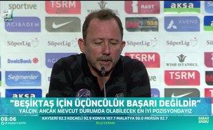 Sergen Yalçın: Kaleyi Türk oyuncu ile kurtarmayı düşünüyoruz