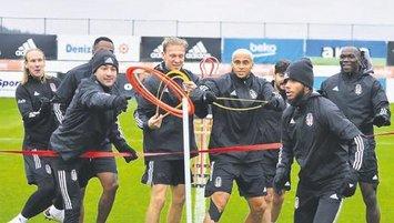 Beşiktaş'ta plan az pas çok gol!