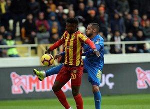 Yeni Malatyaspor - MKE Ankaragücü maçından kareler...