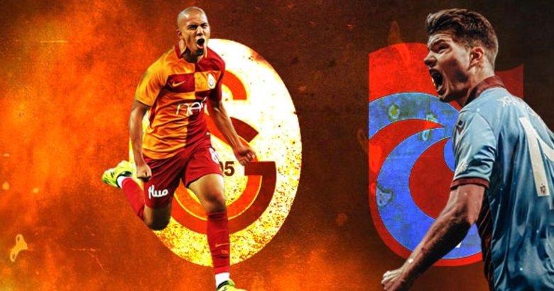 Dev maç için nefesler tutuldu! İşte Galatasaray-Trabzonspor mücadelesinde ilk 11'ler