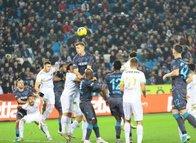 İşte Trabzonspor Kayserispor maçından kareler