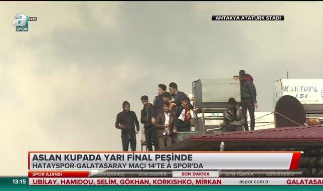 Hatayspor - Galatasaray maçına yoğun ilgi!