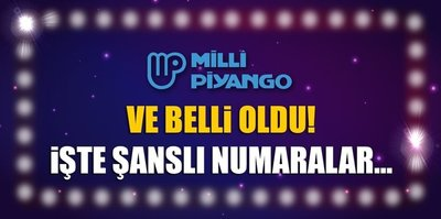 İşte Milli Piyango'da kazanan numaralar