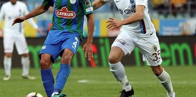 Trabzonspor ile Çaykur Rizespor 36. randevuda